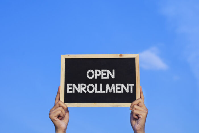 sign of successful open enrollment