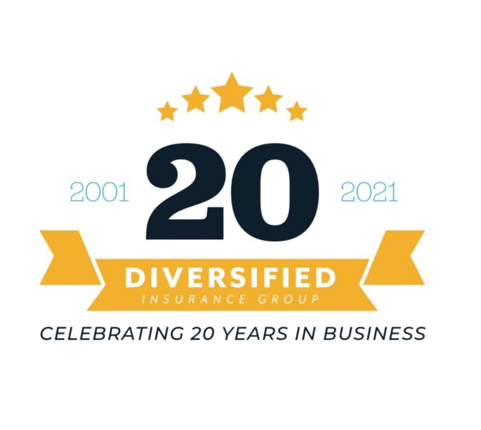 diversified insurance group 20th anniversary initiative