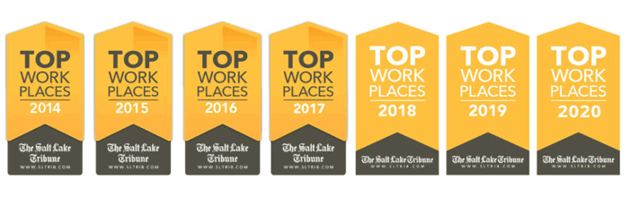 Seven-time winner of Top Workplace award